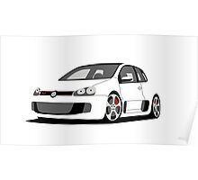 Volkswagen Golf GTI W12-650 Poster