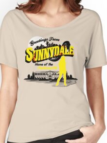 Greetings from Sunnydale  Women's Relaxed Fit T-Shirt