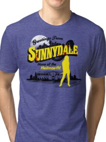 Greetings from Sunnydale  Tri-blend T-Shirt