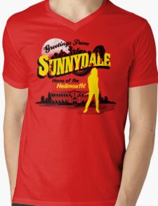 Greetings from Sunnydale  Mens V-Neck T-Shirt