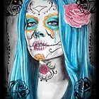 Day of the Dead Ladies by Diana Shively