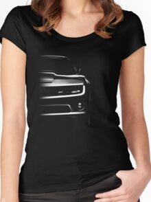 chevrolet camaro ss 2010 Women's Fitted Scoop T-Shirt