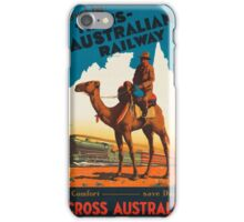 Vintage poster - Australia iPhone Case/Skin