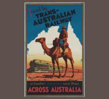 Vintage poster - Australia Baby Tee