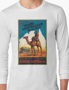 Vintage poster - Australia Long Sleeve T-Shirt