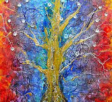 Albedo  Tree of Life 8 by Regina Valluzzi