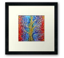 Albedo  Tree of Life 8 Framed Print
