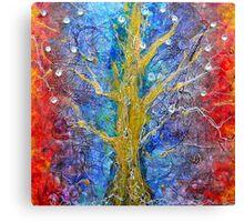Albedo  Tree of Life 8 Canvas Print