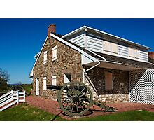 Gettysburg National Park - Robert E Lee Headquarters Photographic Print