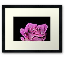 Her Soul Rises In The Evening Framed Print