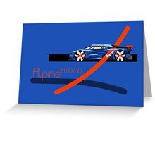 Renault Alpine A110-50 Greeting Card