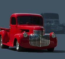1946 Chevrolet Pickup Truck Hot Rod by TeeMack
