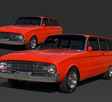 1960 Ford Falcon Station Wagon by TeeMack