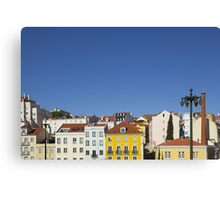 Colourful buildings Canvas Print