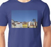 Colourful buildings Unisex T-Shirt