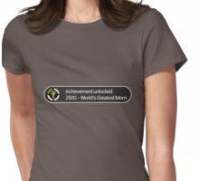 Achievement Unlocked Womens Fitted T-Shirt