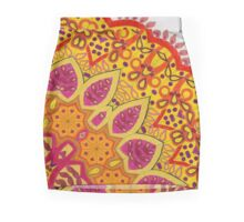 Summer - a coloring  Pencil Skirt