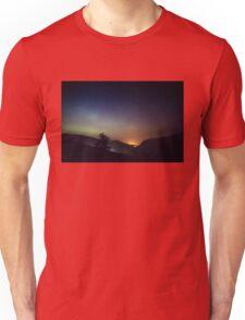 Aurora over Glengesh, Donegal Unisex T-Shirt