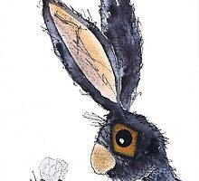 THE HARE AND THE BUMBLE BEE by dbarker