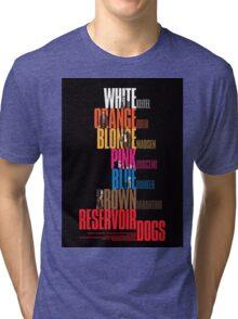 Reservoir Dogs - Movie Poster Tri-blend T-Shirt