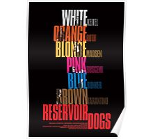 Reservoir Dogs - Movie Poster Poster