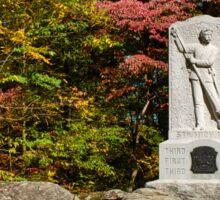 Gettysburg National Park - Michigan Memorial Sticker