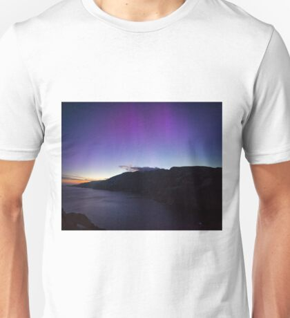The Northern Lights in June Unisex T-Shirt