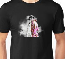 White and Pink(man) Unisex T-Shirt