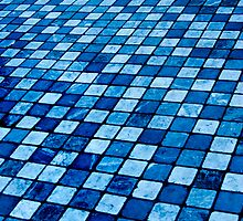 Blue Tile by IyoungImages