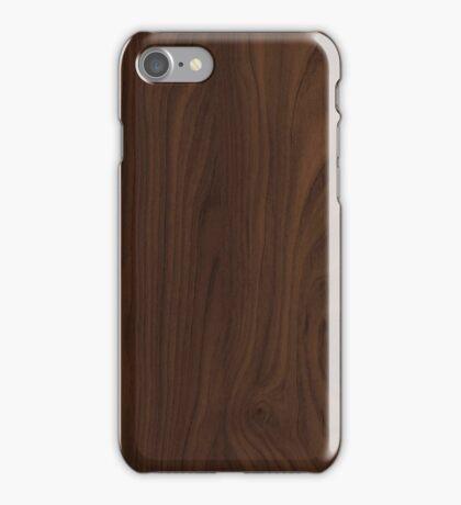 Dark Wood iPhone Case/Skin