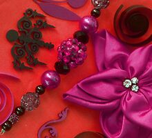 Bow, Beads & Filigree by Tamarra