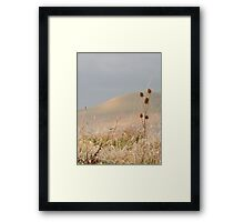Winter's Day at Caburn Framed Print