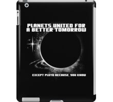 Power to the Planets. iPad Case/Skin
