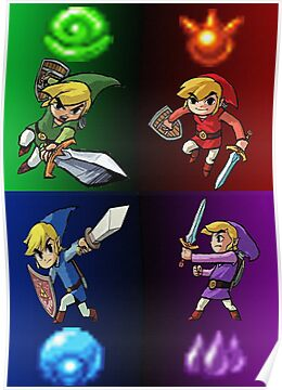 Heroes of The Four Sword by PhantomChild