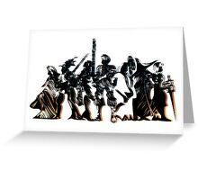 Final Fantasy Tactics - Shadow and dark logo Greeting Card