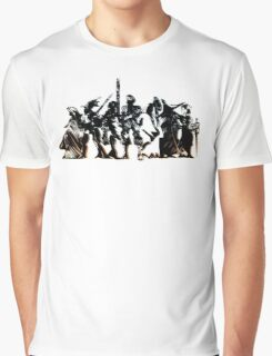 Final Fantasy Tactics - Shadow and dark logo Graphic T-Shirt