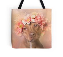 Flower Power, Una Tote Bag