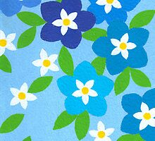 SPRINGTIME BLUE WONDER by RainbowArt
