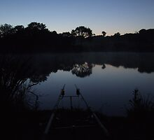 Carp Fishing at Dawn by mps2000