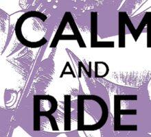 Keep Calm & Ride Chocobo Sticker
