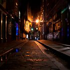 The Shambles at Night, York by mps2000