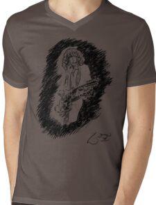sir Jimmy Page Mens V-Neck T-Shirt