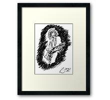 sir Jimmy Page Framed Print