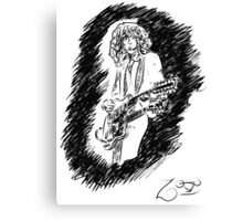 sir Jimmy Page Canvas Print