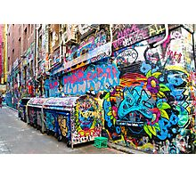 Graffiti Alley Photographic Print