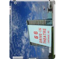 Route 66 Drive-In Theatre iPad Case/Skin