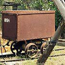 Tin Mine Box Car by Vanessa Barklay