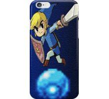 Blue Link iPhone Case/Skin