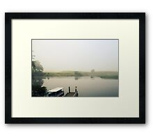 Morning Mist on the Daintree River Framed Print