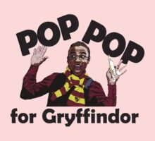 Pop Pop for Gryffindor! Kids Clothes